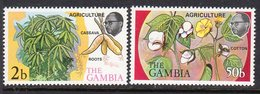 Gambia 1973 Agriculture III Set Of 2, MNH