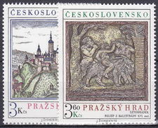 ** Tchécoslovaquie 1976 Mi 2343-4 (Yv 2179-80), (MNH)