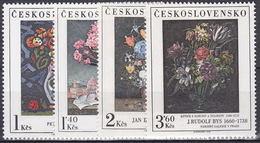 ** Tchécoslovaquie 1976 Mi 2351-4 (Yv 2187-90), (MNH)
