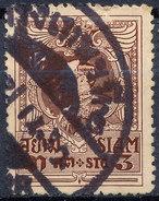 Stamp THAILAND,SIAM 1920 Fancy Cancel Used Lot#184 - Siam