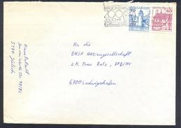 Germany Deutschland 1986Cover: Birds Oiseaux Vogel Uccelli; Owl Eule Hibou Zoo Brückenkopf