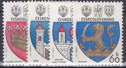 ** Tchécoslovaquie 1977 Mi 2360-3 (Yv 2196-9), (MNH)