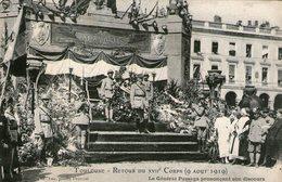 (19)  CPA  Toulouse Retour Du 17eme 1919 (bon Etat) - Toulouse
