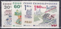 ** Tchécoslovaquie 1977 Mi 2370-3 (Yv 2206-9), (MNH)