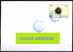 ARGELIA 2013 Circulated Cover  Faune Marine - Sealife -  Fauna - Oursin - Urchin - Pilluelo - Seeigel
