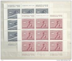 1976 MNH Joegoslavië, Postfris** - Blocs-feuillets