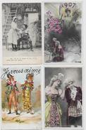 Lot N° 78 De 100 CPA Fantaisies Illustrateurs Déstockage Pour Revendeurs Ou Collectionneurs  PORT GRATUIT FRANCE - Postales