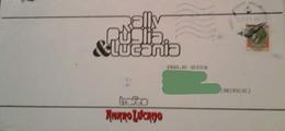 Busta Da Lettera Del RALLY PUGLIA & LUCANIA - Trofeo Amaro Lucano - 1980 Con Valore Da £. 170 Della Siracusana - Vecchi Documenti