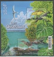 FRENCH POLYNESIA ,2016, MNH, BIRDS, SHEETLET