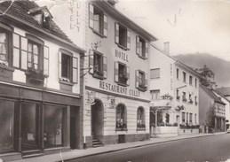 NIEDERBRONN LES BAINS - BAS-RHIN - (67) -  PEU COURANTE CPSM DENTELÉE. - Niederbronn Les Bains