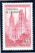 FRANCE 1958: Conseil De L'Europe - N° 16** - Neufs