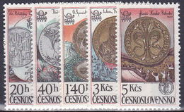 ** Tchécoslovaquie 1978 Mi 2427-31 (Yv 2258-62), (MNH)