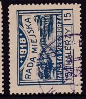 POLAND Przedborz 1918 Local Forgery Used - ....-1919 Übergangsregierung