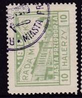 POLAND Przedborz 1918 Local Fi 12 Forgery Used - ....-1919 Provisional Government