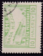 POLAND Przedborz 1918 Local Fi 16 Forgery Used - ....-1919 Provisional Government