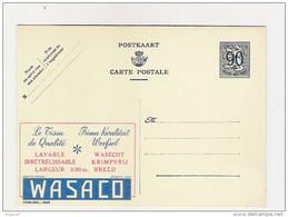 Publibel Neuve N°  1089 (tissu De Qualité: WASACO) - Entiers Postaux