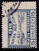 POLAND Przedborz 1918 Local Fi 17 Forgery Used - Autres