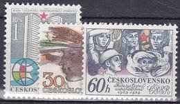 ** Tchécoslovaquie 1979 Mi 2485-7 (Yv 2314-6), (MNH)