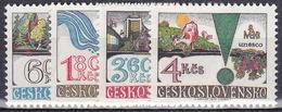 ** Tchécoslovaquie 1979 Mi 2512-5 (Yv 2340-3), (MNH)