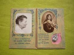 Carte Souvenir Avec Photo Et Médaille Les Orphelins D'Auteuil