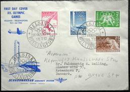 Finland 1952 Olympic Games  ( LOT 2049  ) - Brieven En Documenten