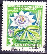 Uruguay - Passionsblume (Passiflora Coerulea) (MiNr: 779) 1954 - Gest Used Obl - Uruguay