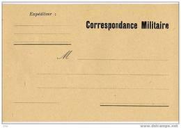 CORRESPONDANCE MILITAIRE  -   PERIODE 1939/45 - Marcofilie (Brieven)