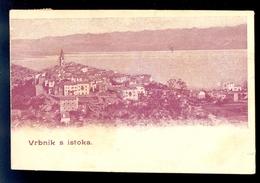 Vrbnik S Istoka / Postcard Circulated, 2 Scans - Croatia