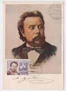 CARTE MAXIMUM CM Card USSR RUSSIA Music Composer MUSORGSKY - 1923-1991 URSS