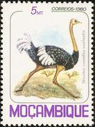 Mozambique. 1980   Autruche. Ostrich