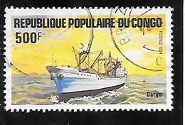 TIMBRE OBLITERE DU CONGO BRAZZA DE 1984 N°MICHEL 970 - Congo - Brazzaville