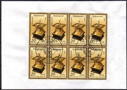 DDR 1983 - Tischsonnenuhr - MiNr.2798 Kleinbogen Mit E-SStp. - Uhrmacherei