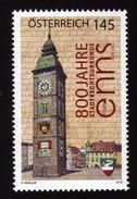 ÖSTERREICH 2012 ** Uhr, Clock Am Stadtturm Enns - MNH - Uhrmacherei