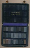 Rare Set D'échantillons D'alliage De Carbone De La Société Le Carbone Lorraine - Actuellement Groupe Mersen - Minerals