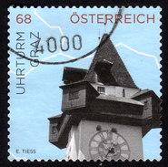 ÖSTERREICH 2015 - Uhr, Clock / Uhrturm Graz - Uhrmacherei