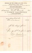 Facture De Firmin Balestrie Meubles En 1903 à Court-St-Etienne PR4124 - 1900 – 1949
