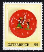 ÖSTERREICH 2009 ** Wanduhr 1950 / Beran, Wien- PM Personalized Stamp MNH - Uhrmacherei
