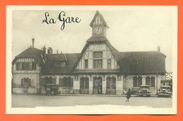 "CPA Saint Leu La Foret "" La Gare "" LJCP 35 - Saint Leu La Foret"