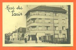 """CPA Saint Leu La Foret """" Rue De Paris """" LJCP 35 - Saint Leu La Foret"""