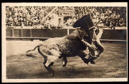 SPANIEN - Stierkampf Barcelona - Gelaufen 1929 - Stierkampf