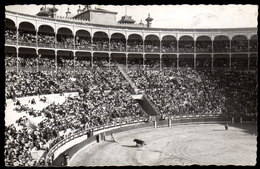 SPANIEN - Stierkampf Madrid, Plaza De Toros Arena - Gelaufen 1953 Mit Zensurstempel - Stierkampf