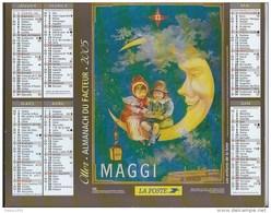Calendrier Des Postes 2005 69 RHONE - Calendarios