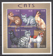 C188 GRENADA CARRIACOU PETS CATS 1KB MNH