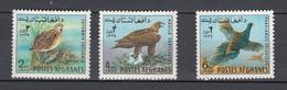 Afghanistan 1970,3V,set,birds,vogels,vögel,oiseaux,pajaros,uccelli,aves,MLH/Ongebruikt,(A3180) - Vogels