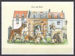 C215 TANZANIA PETS CATS & DOGS 1KB MNH