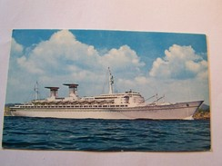 Cp1107 Tom17   MICHELANGELO E RAFFAELLO 46000n Tonnes Italian Line - Boats