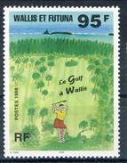WF 1996 N. 486 Il Golf A Wallis MNH Cat. € 3.50 - Nuovi