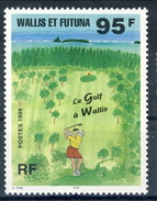 WF 1996 N. 486 Il Golf A Wallis MNH Cat. € 3.50 - Wallis E Futuna