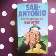 SAN  ANTONIO  LES  VACANCES  DE  BERURIER   PRESSES POCKET  N 844 - San Antonio