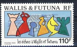 WF 1996 N. 492 Gli Scacchi A Wallis E Futuna MNH Cat. € 3 - Nuovi